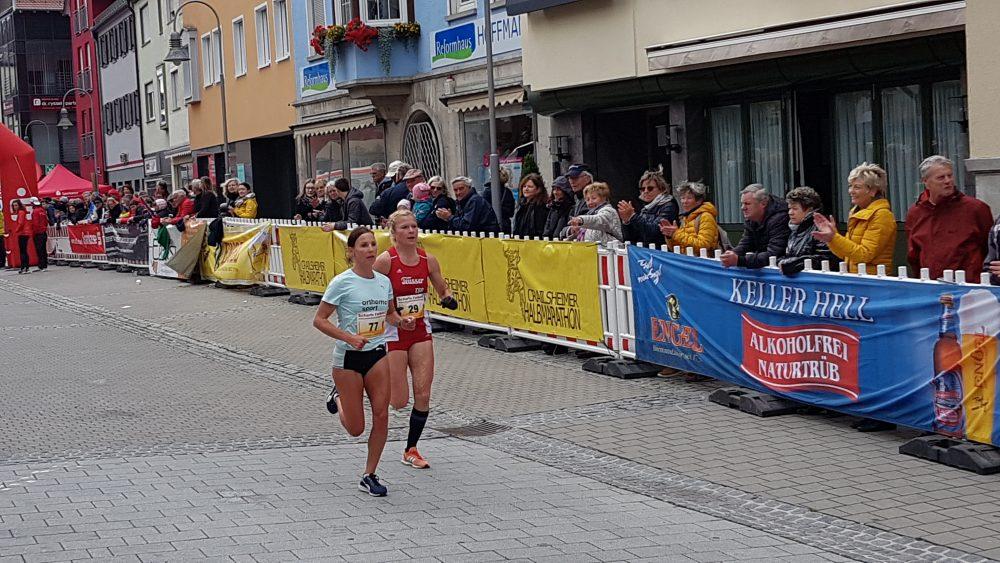 Sabrina Mockenhaupt in Crailsheim