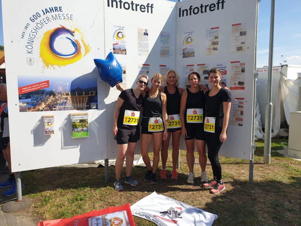 Frauenteam Messelauf Königshofen