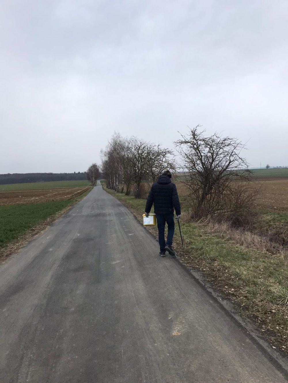 Mike sucht noch Müll Quelle: Mike Kühlwein