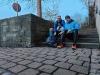 Chris und Armin waren unterwegs beim Plogging Quelle: Chris Hamm