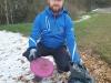 Ronny erfolgreich beim Müll sammeln Quelle: Ronny Grosser