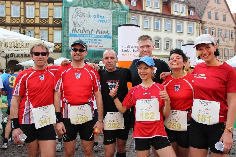 Stadtlauf Bad Mergentheim 2012