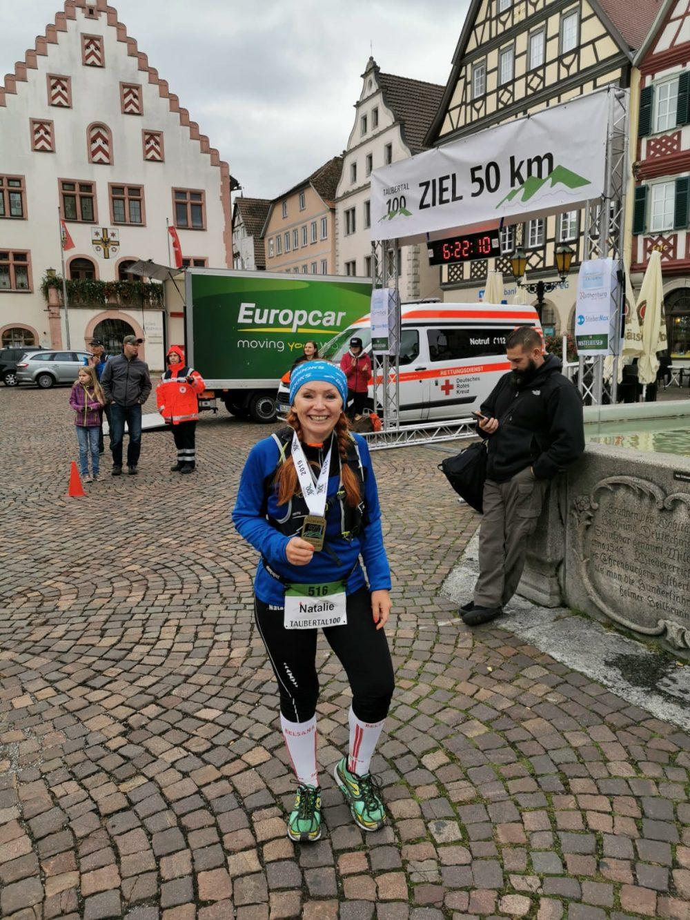 Ziel Bad Mergentheim 50 km