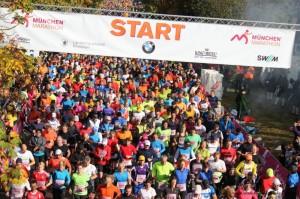Start 28. München Marathon