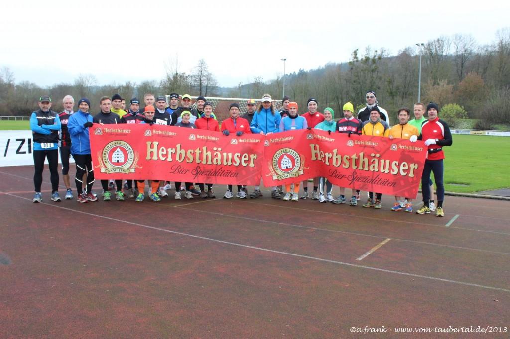 """Starterfeld 1. """"Harte Mann"""" Extremlauf in Niederstetten"""