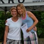 Daniela und Eleisa Haag belegten den 1. Platz in ihrer Altersklasse