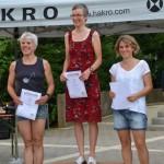 12. Hakro-Stadtlauf 3. Platz AK für Astid Dinkel