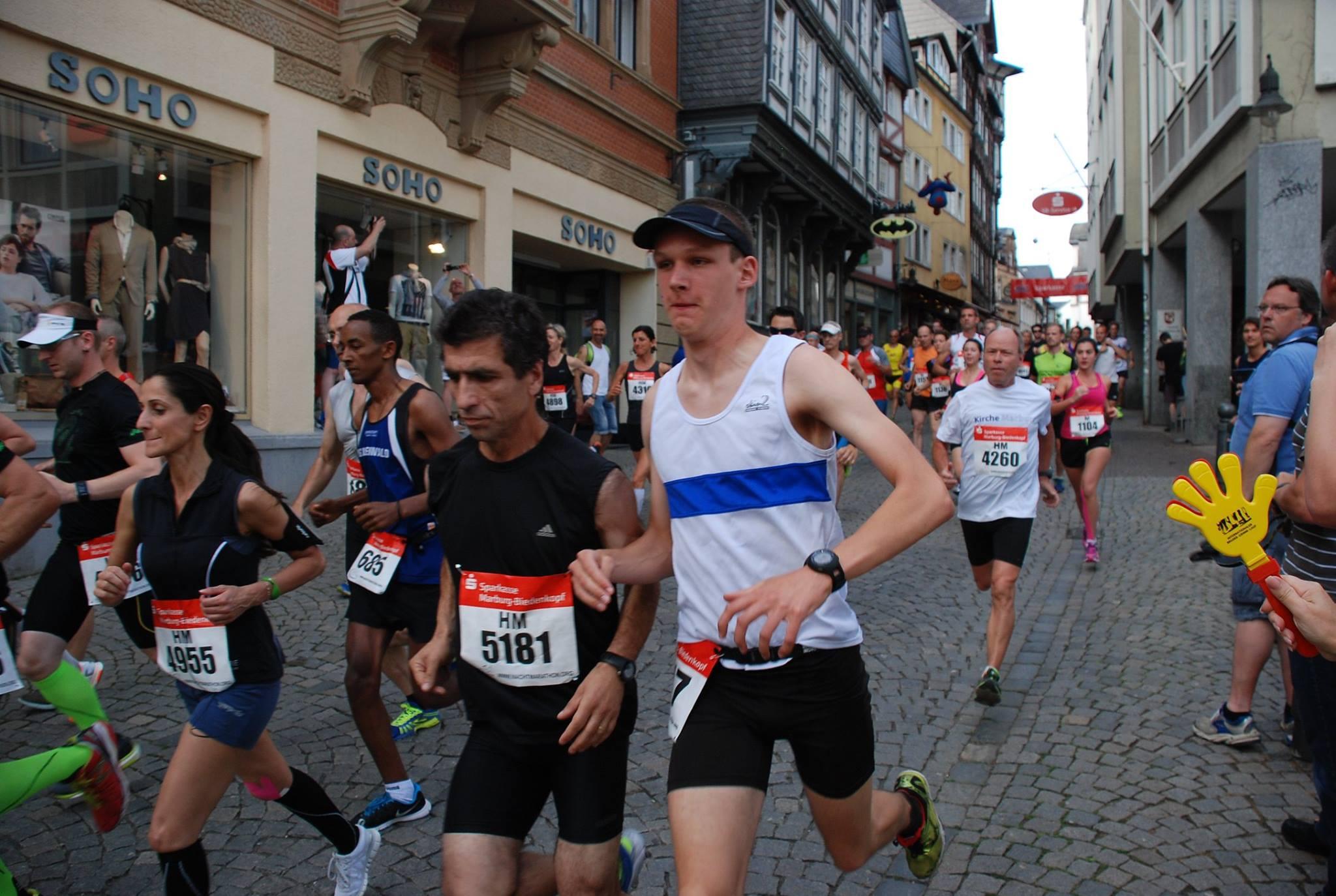 Ronny Halbmarathon Marburg