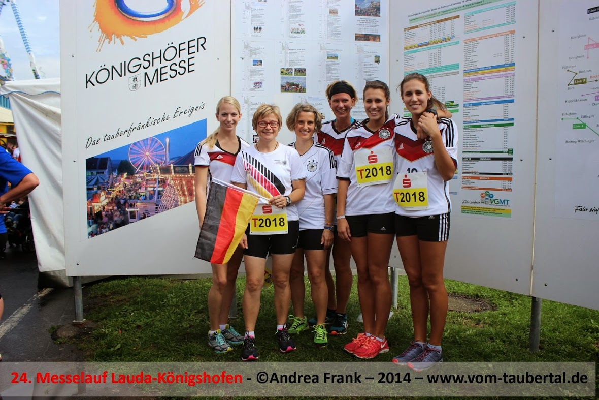 von rechts: Nadine Keim, Melinda Keim, Daniela Haag, Astrid Dinkel, Birgit Weber, Hannah Herzer