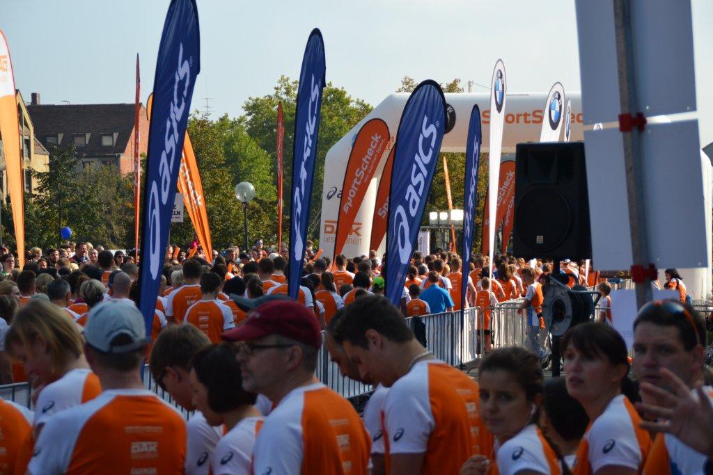 Starterfeld Stadtlauf Nürnberg 03.10.2014