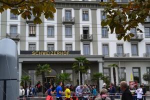 SwissCityMarathon Messe im Schweizer Hof