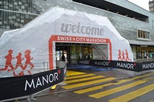 Zieleinlauf Lucern Marathon