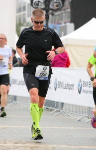 Steffen beim 33. BMW Frankfurt Marathon