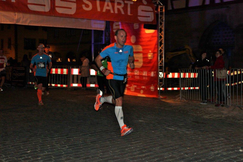 Armin beim 8. Rothenburger Lichterlauf