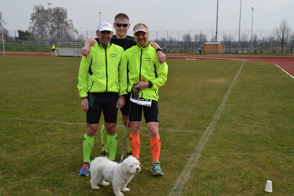 Die steide-runners nach dem Zieleinlauf