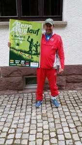 Andreas Finkenberger beim 43. GutsMuths-Rennsteiglauf