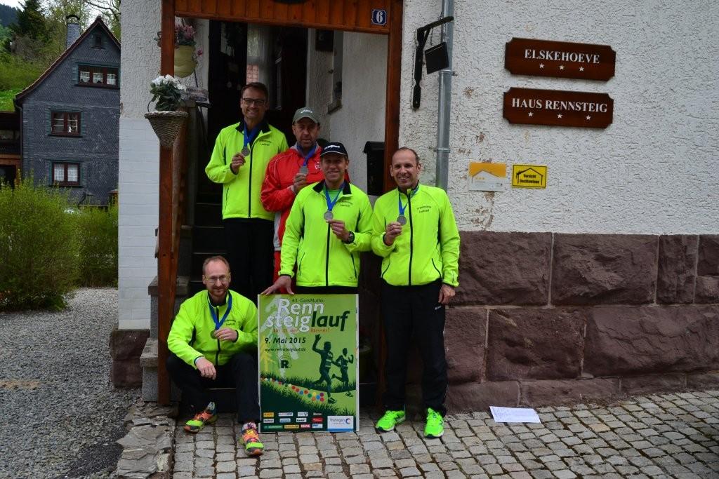 Finisherbild 43. GutsMuths-Rennsteiglauf Halbmarathon