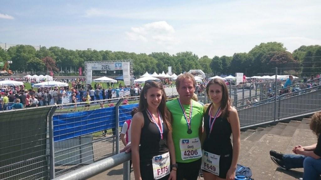 Familie Keim beim Heilbronner Trollinger Marathon