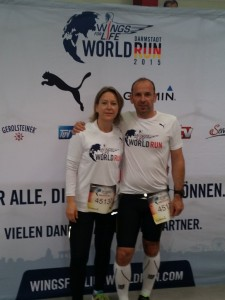 Katrin und Armin beim Wings for Life World Run