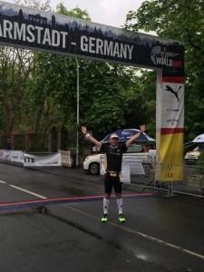 Armin an der Startlinie