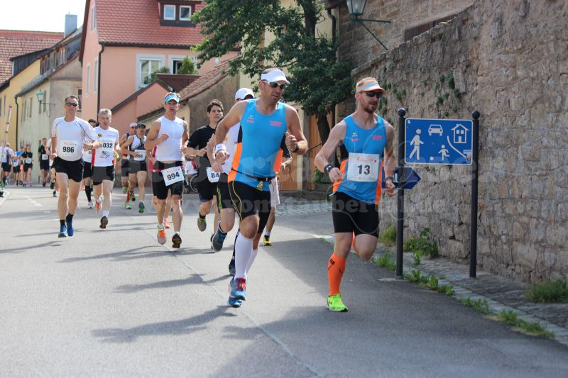 Armin und Ronny in der Altstadt von Rothenburg