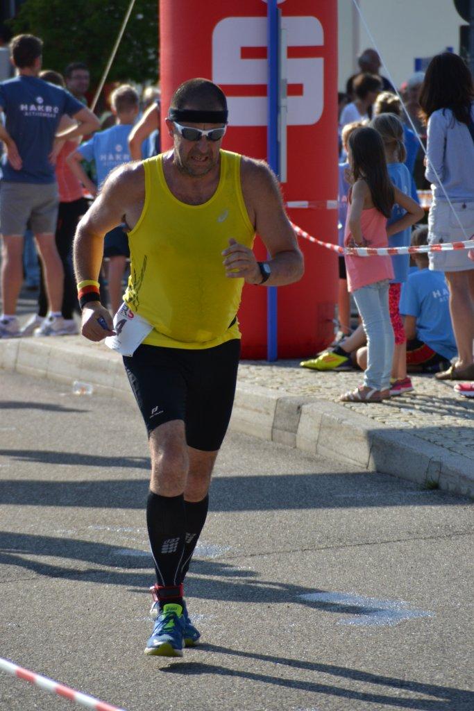 Andreas beim 13. HAKRO Stadtlauf