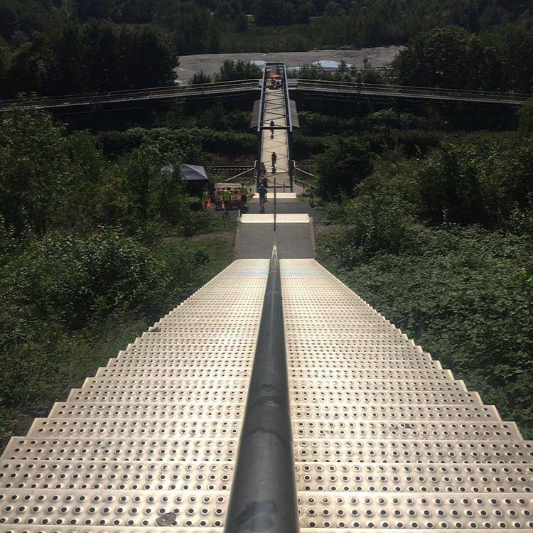 Tetraeder Treppenlauf in Bottrop 2015