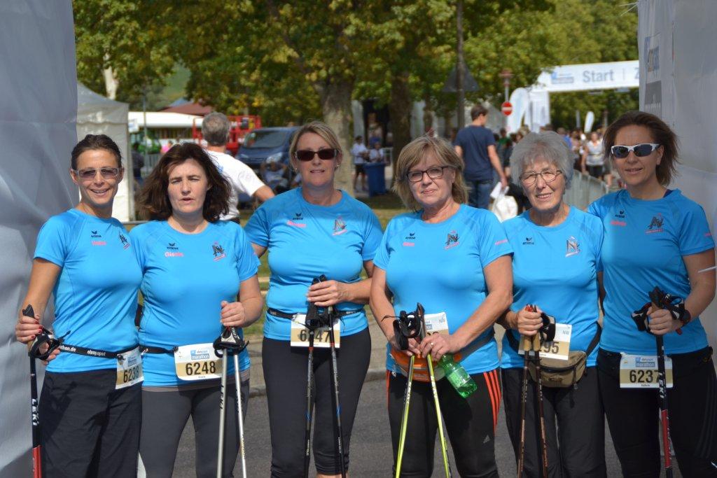 Nordic Walking Gruppe der steide-runners
