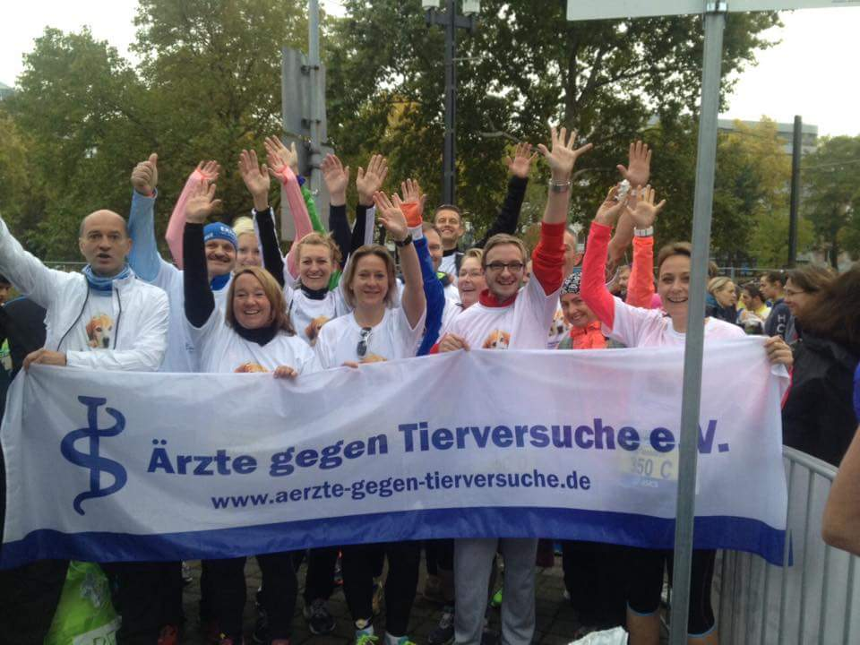 34. Frankfurt Marathon - Ärzte gegen Tierversuche