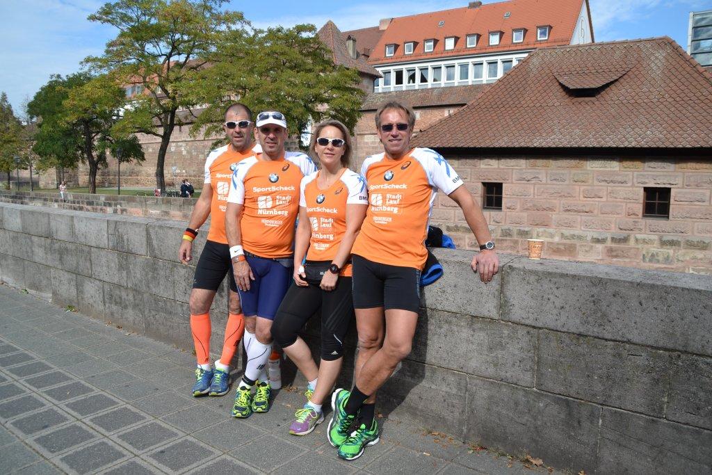 steide-runners beim 20. SportScheck Stadtlauf Nürnberg