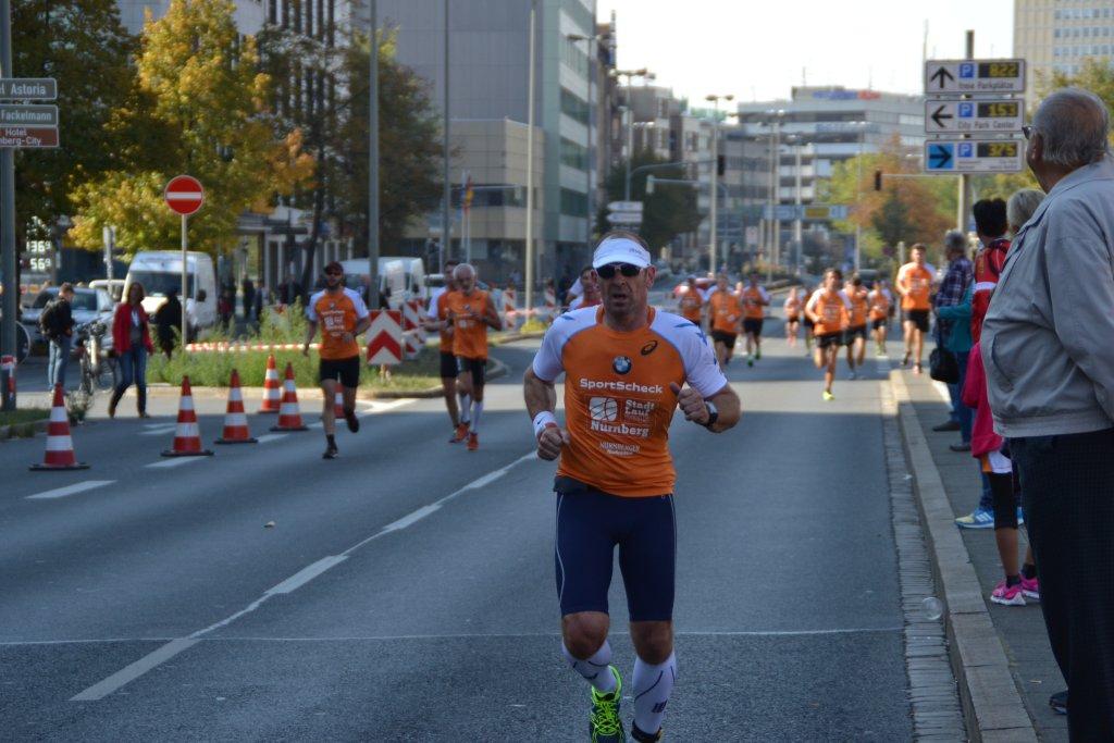 Armin Andreas beim 20. SportScheck Stadtlauf Nürnberg