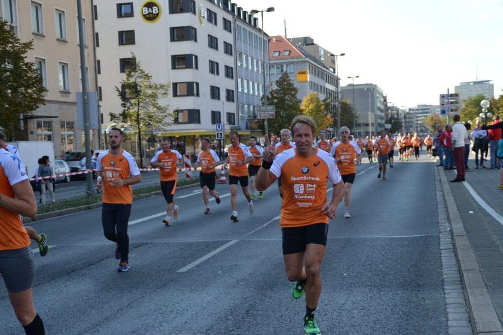 Georg beim 20. SportScheck Stadtlauf Nürnberg