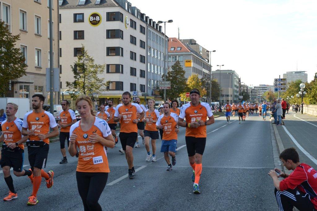 Andreas beim beim 20. SportScheck Stadtlauf Nürnberg