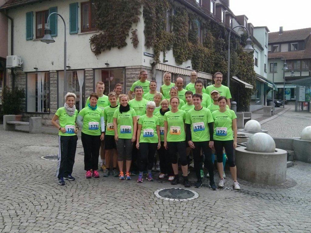 Starter Intersport Schoell beim 6. Crailsheimer Sparkassenlauf