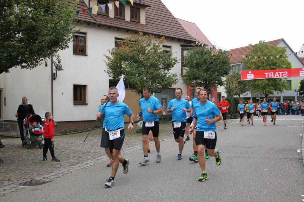 Team steide-runners beim Herbstfestlauf in Niederstetten