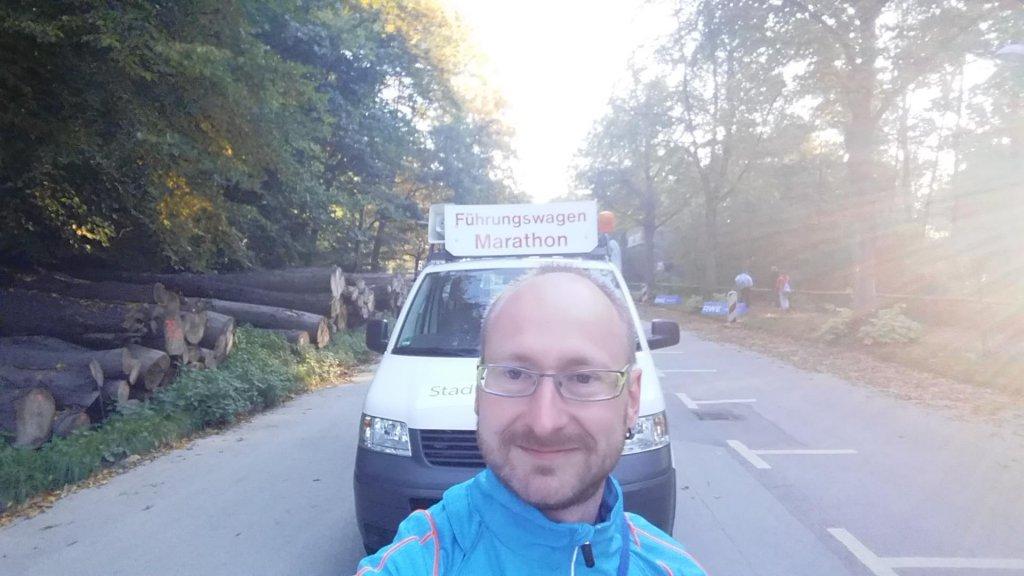 """Ronny beim 53. RWE Marathon """"Rund um den Baldeneysee"""""""