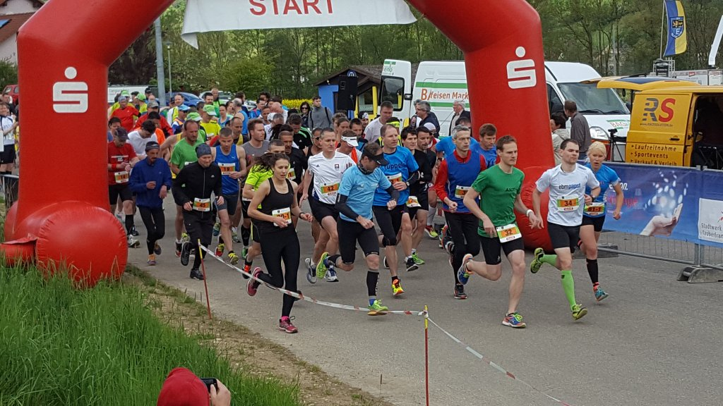 Start 14. Elpersheimer Pfingstlauf