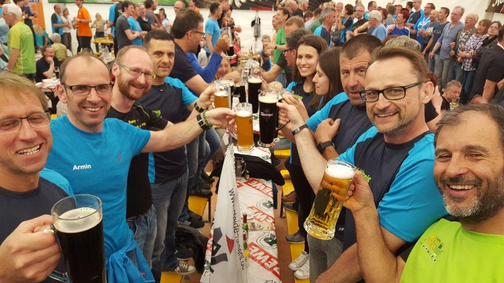 Läuferparty 44. GutMuths-Rennsteig Marathon