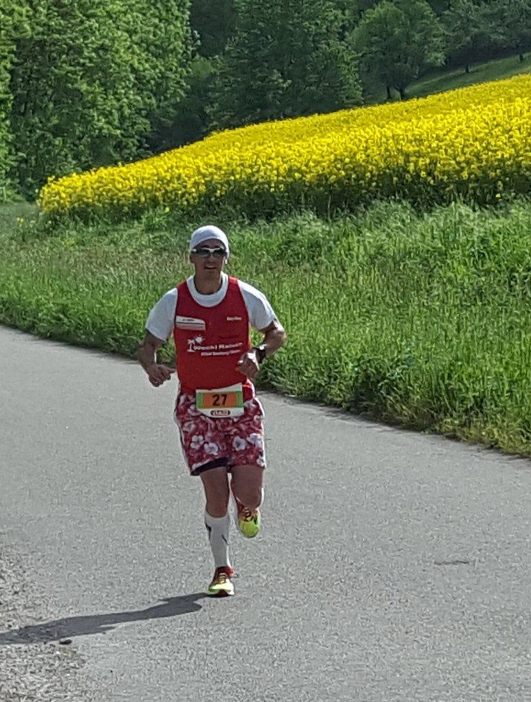 Kay-Uwe Müller zwischen Weikersheim und Elpersheim