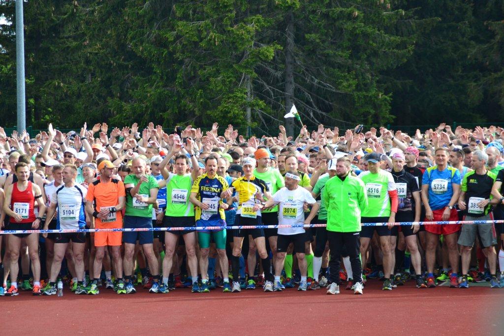 GutsMuth Rennsteig Marathon Start