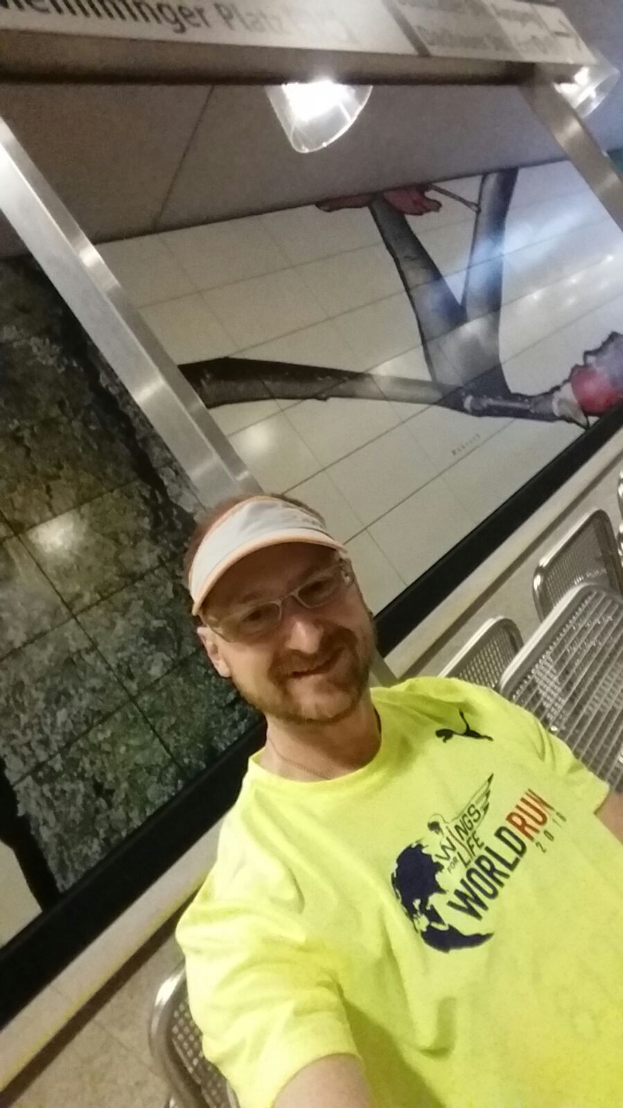 Ronny beim Wings for Life World Run in München