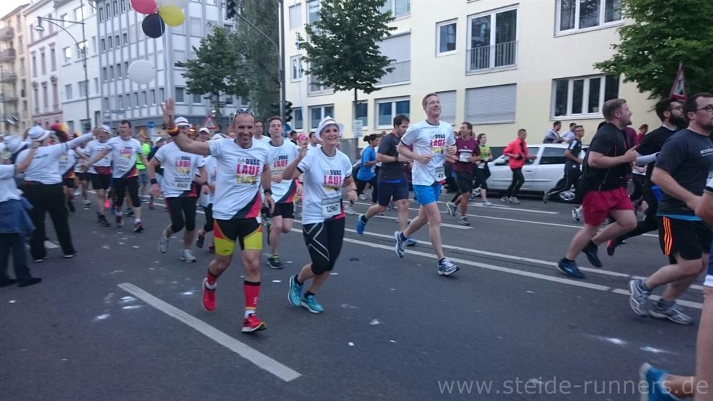 Armin beim J.P.Morgan Challengelauf