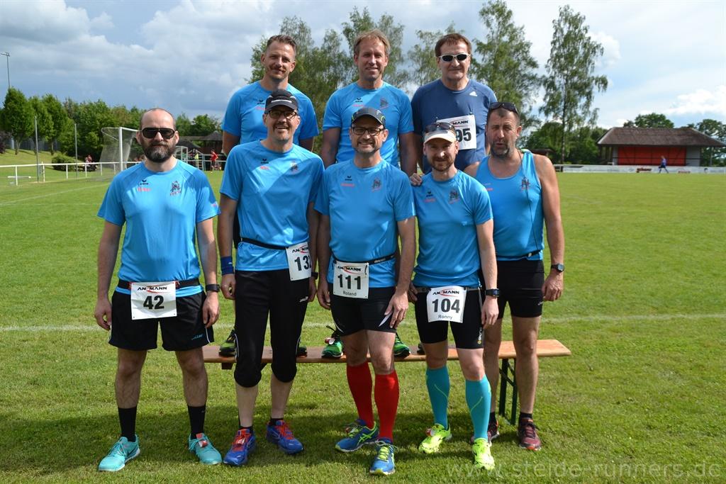 Gruppenbild steide-runners beim ANSMANN-Cup 2016