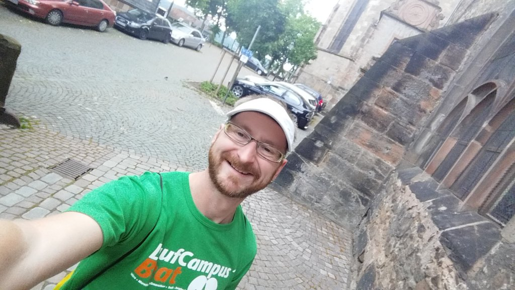 Ronny beim 19. Marburger Nachtmarathon