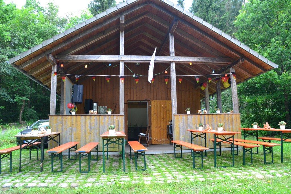 Grillhütte Herrenzimmerner See