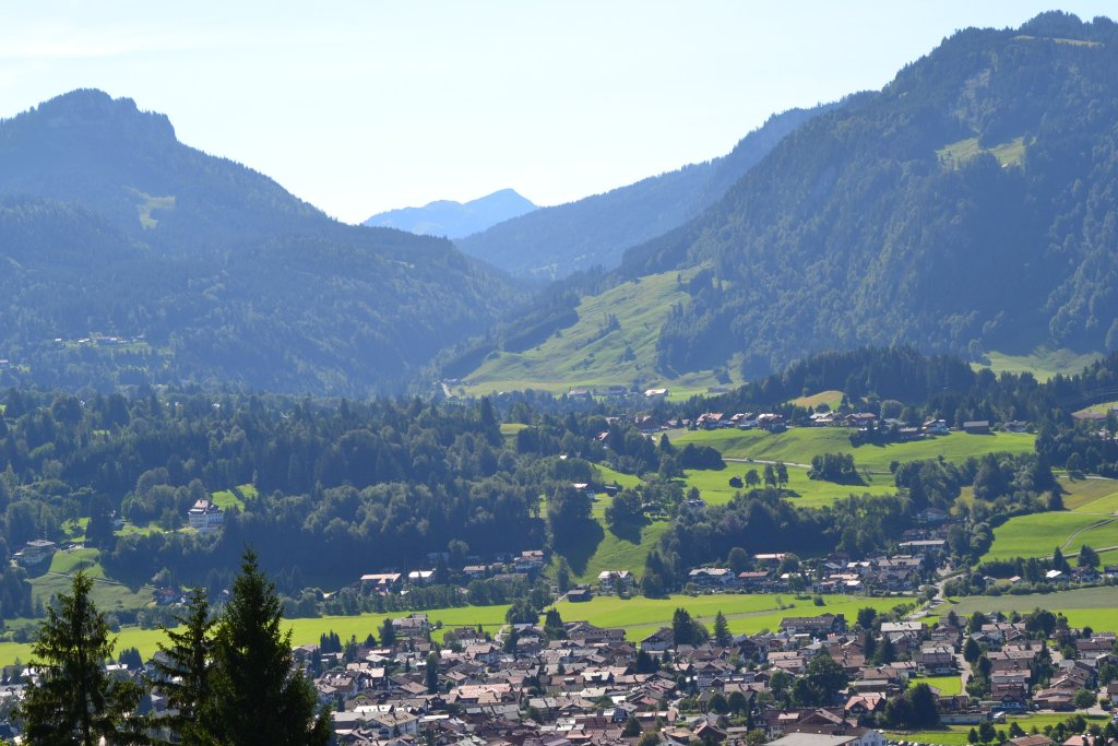 Alpenpanorama rund um Sonthofen