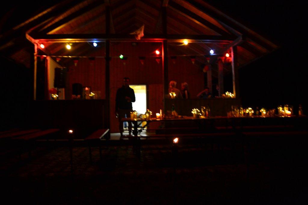 Herrenzimmerner Seehüte bei Nacht
