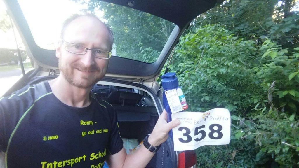 Ronny beim 29. Dachauer Straßenlauf