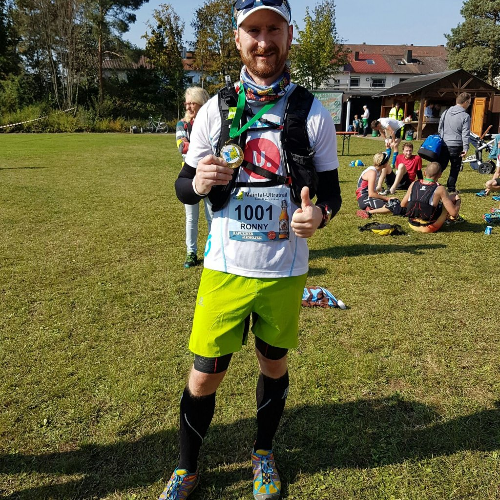 Ronny Grosser beim Maintal Ultratrail 2016