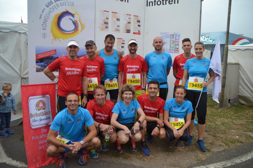 Starter/innen aus Niederstetten beim 26. Messelauf in Lauda-Königshofen